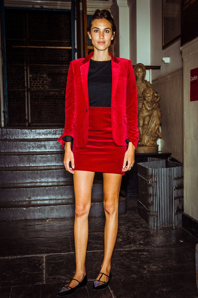 Alexa Chung And Daisy Lowe Style Out The Same Blazer