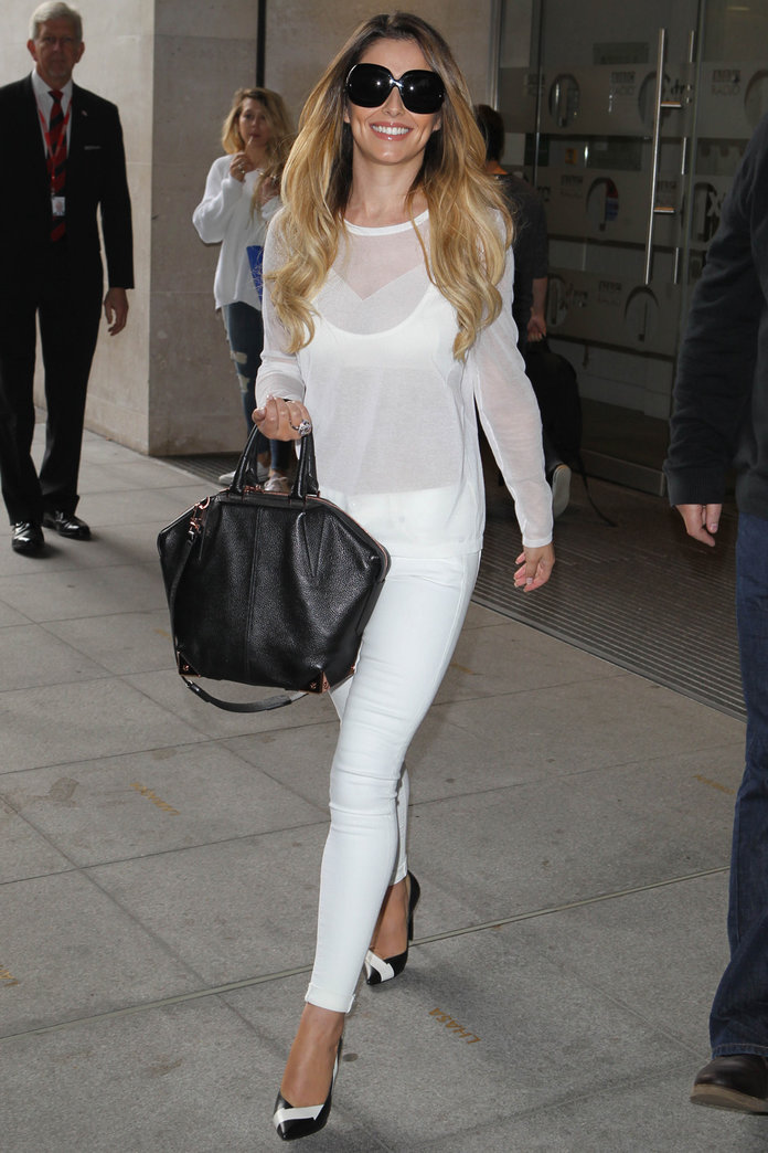 Cheryl Cole Is The Queen Of Monochrome Dressing | InStyle ...