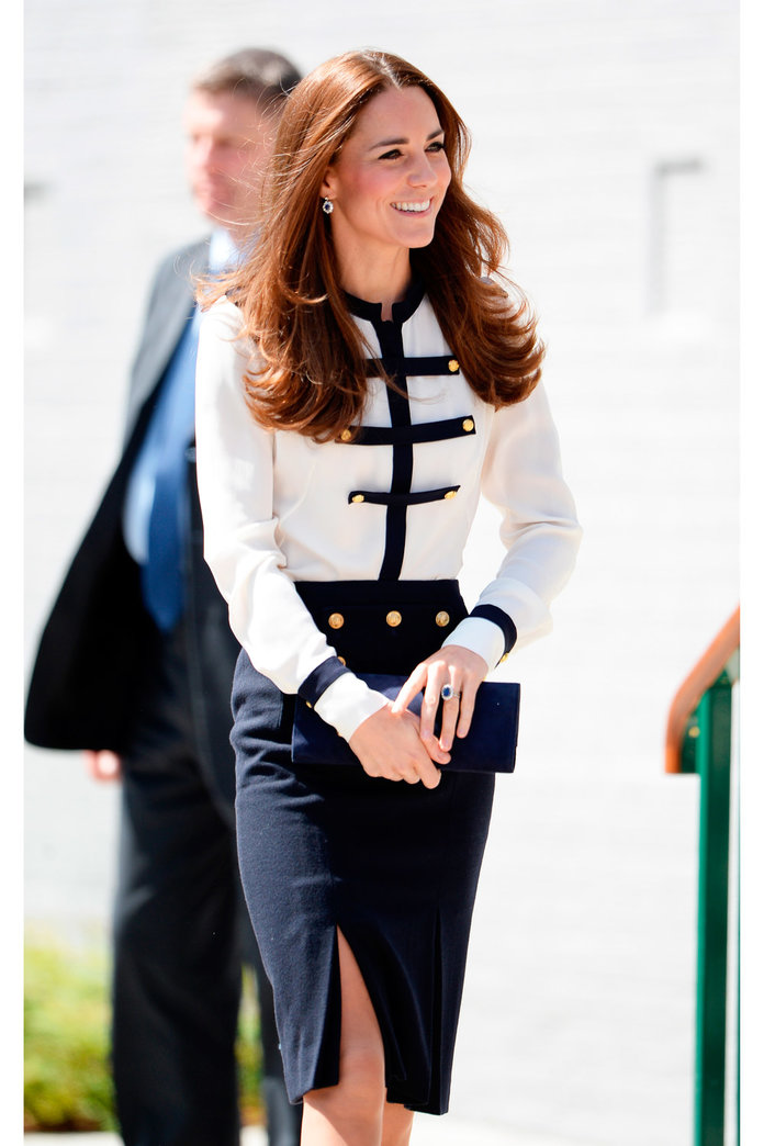 Kate Middleton Dusts Off Yet Another Fab Frock For Royal Outing