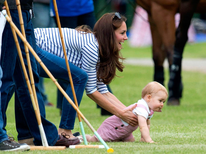 Kate Middleton And Prince George Up The Cute Factor At The Polo