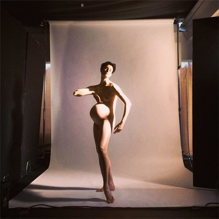 Erin O'Connor Bares All For Nick Knight