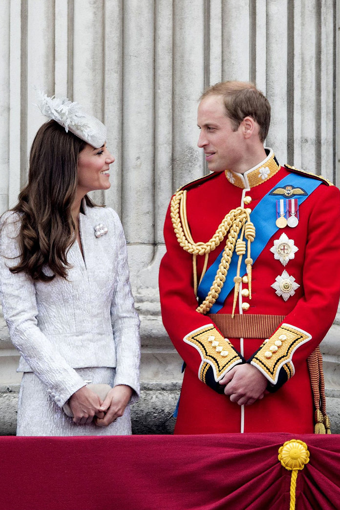 Kate Middleton Wears McQueen To Celebrate The Queen's Birthday