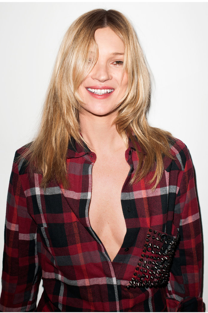 Kate Moss Is All Smiles In New Eleven Paris Campaign