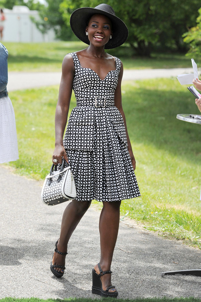 Lupita Nyong'o Knows How To Dress For The Polo