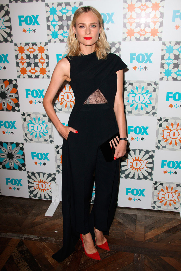 Diane Kruger Proves Caped-Trousers Are Definitely A Thing...