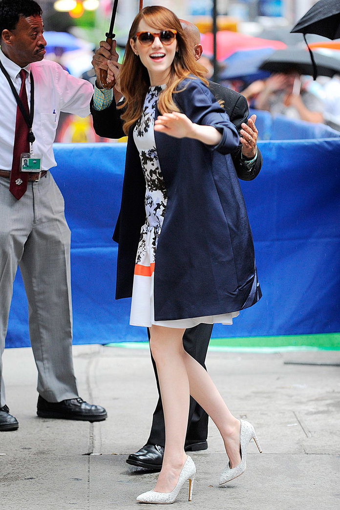 Emma Stone Goes On A Major Frock-A-Thon