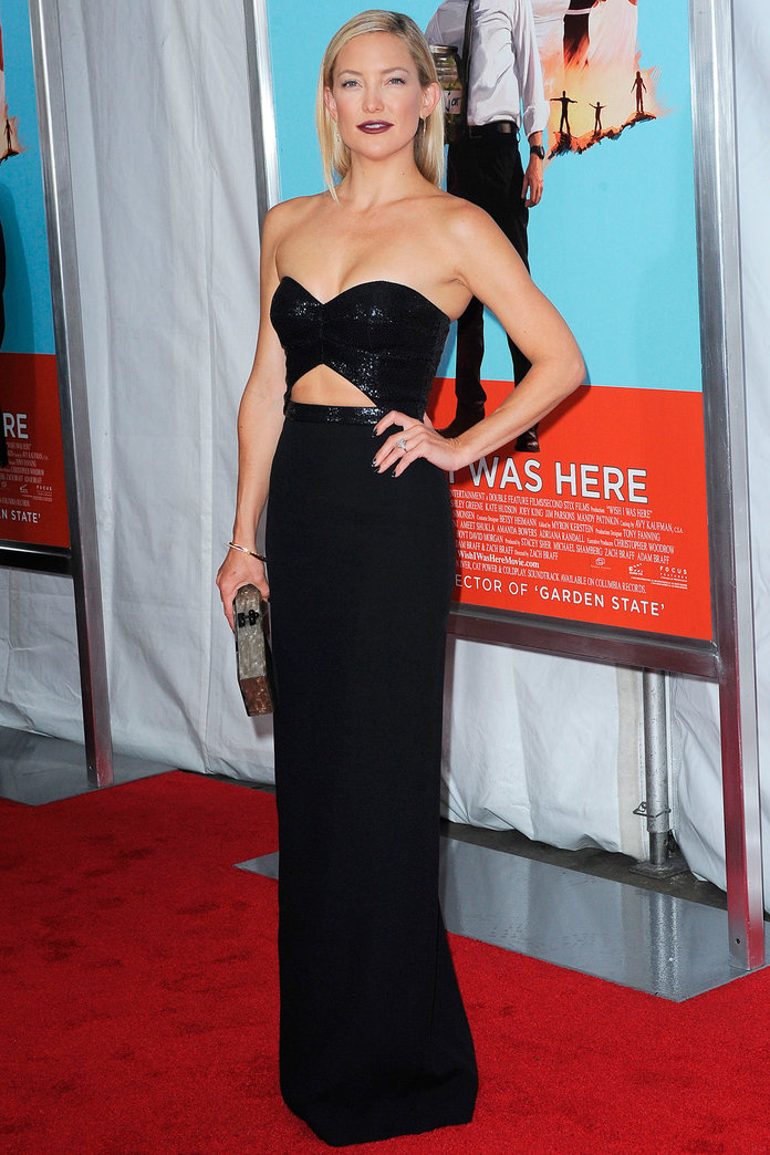 Kate Hudson Gets It So Right In Darling Cut Out Frock