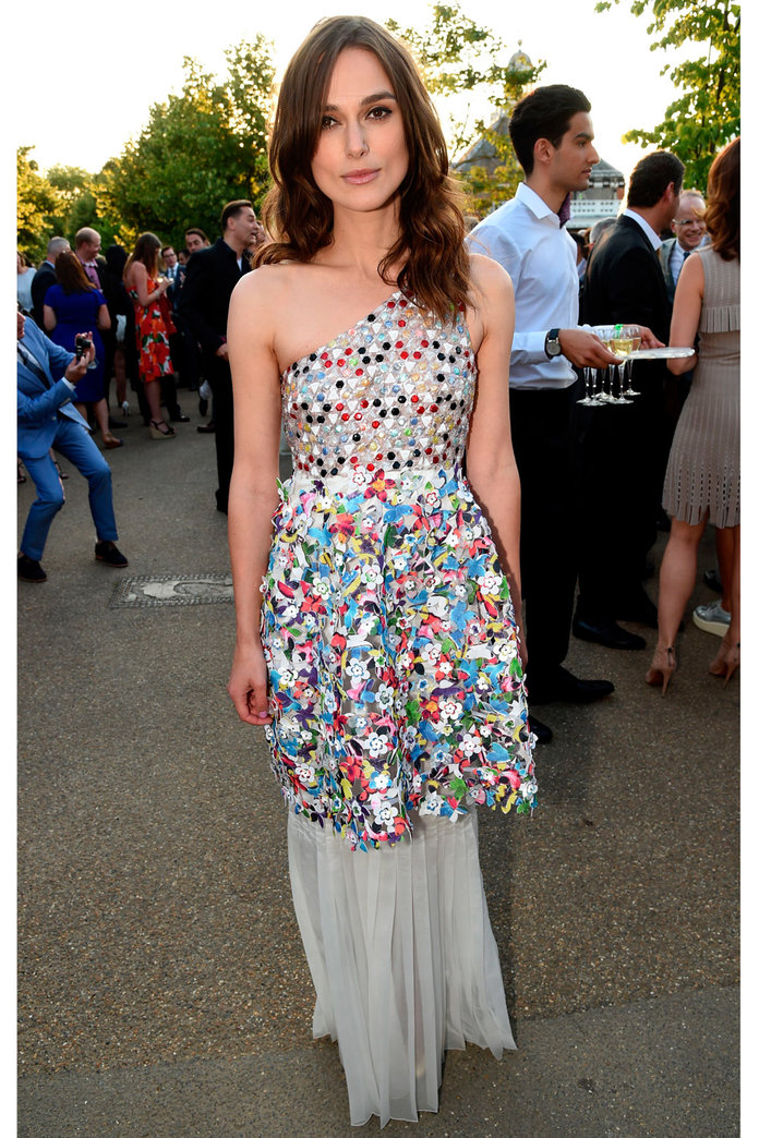 Keira Knightley Goes Back To Chanel For Serpentine Gallery Bash