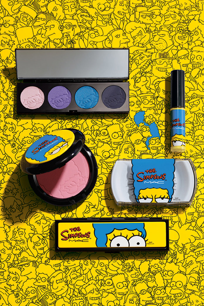 MAC x The Simpsons: Marge's Beauty Line Unveiled For The First Time