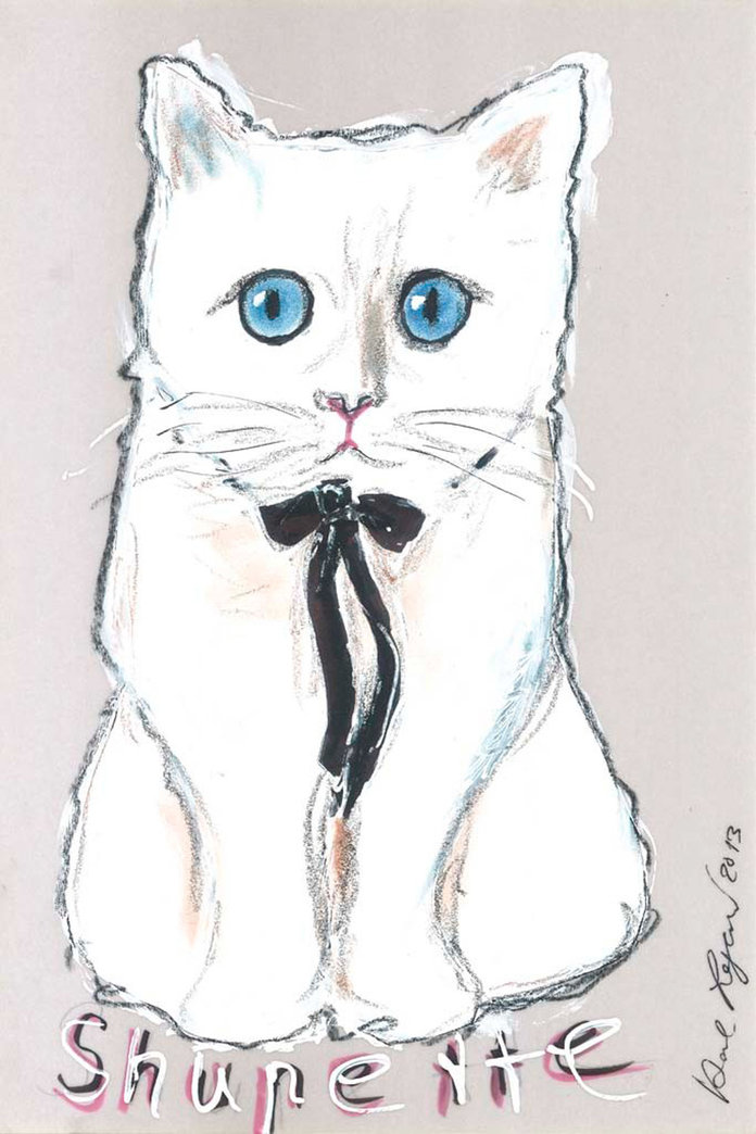 Karl Lagerfeld's Cat Choupette Lands Herself A Make-Up Line
