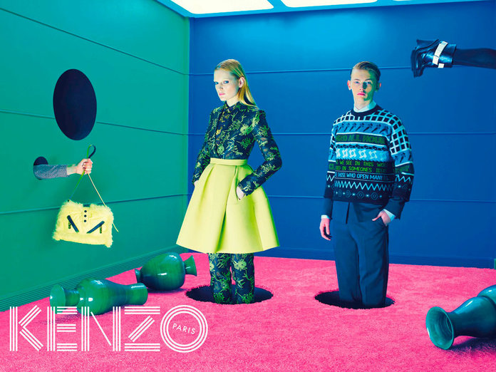 Kenzo Unveil Their Coolest Campaign Ever With Surrealist Video