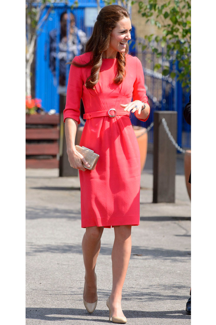Kate Middleton Tries A Pretty New Hair 'Do For Latest Royal Outing