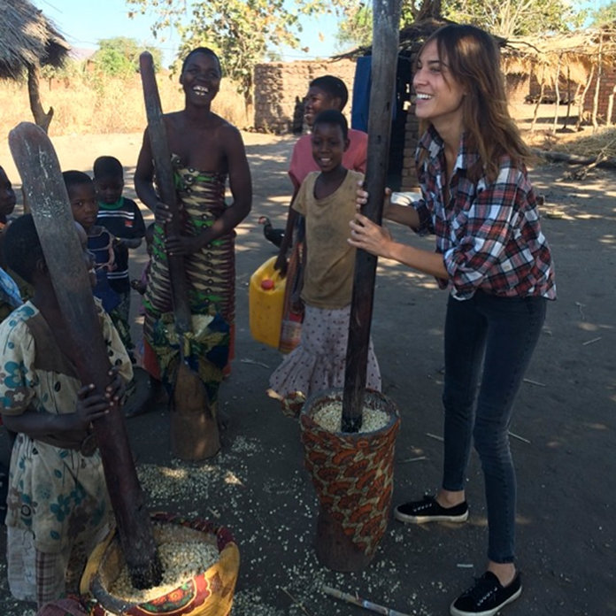 Alexa Chung Heads To Malawi With Oxfam To Fight For Women's Equal Rights