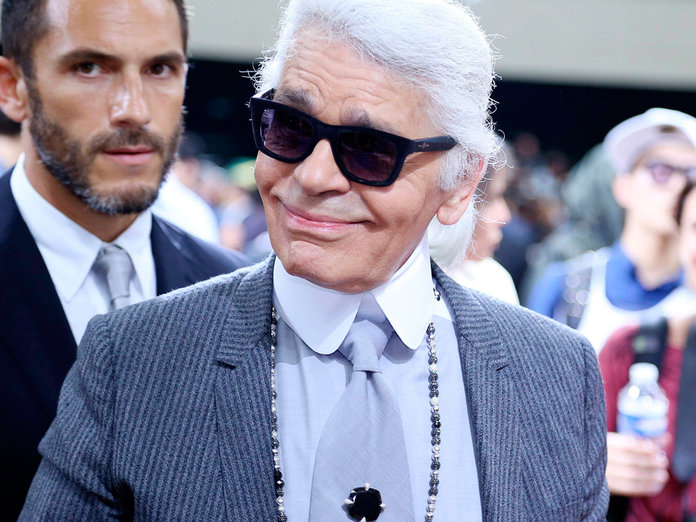 Karl Lagerfeld Gets The Barbie Doll Treatment