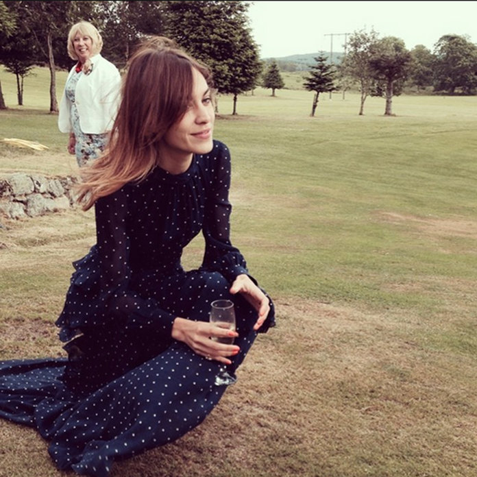 Alexa Chung Has Wedding Guest Style Sorted