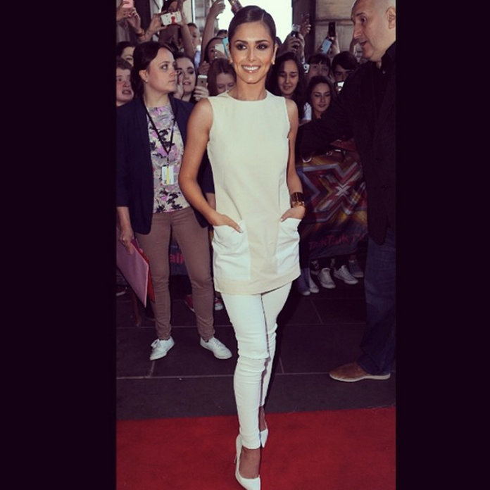 Cheryl Cole Wows In White For The Third Time At X Factor Auditions