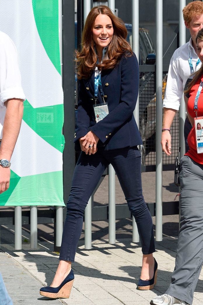 Kate Middleton Nails Casual Style At The Commonwealth Games