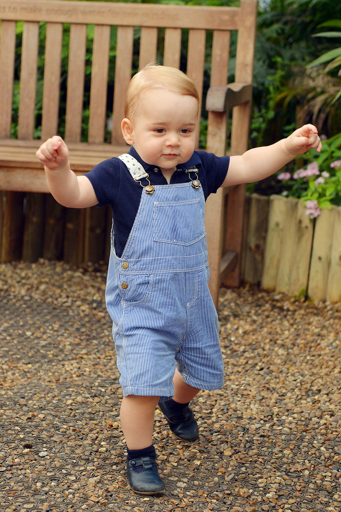 Prince George's First Birthday Portrait Is Revealed