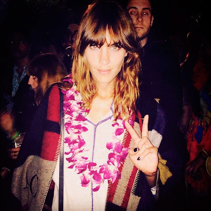 Alexa Chung Has Bagged Herself AW14's Hottest Item (And We're Beyond Jealous)