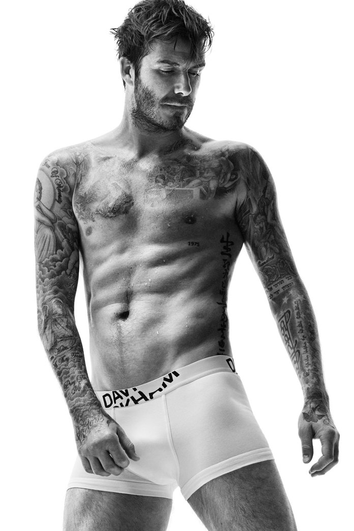 David Beckham Strips Off For H&M In The Collab That Just Keeps On Giving