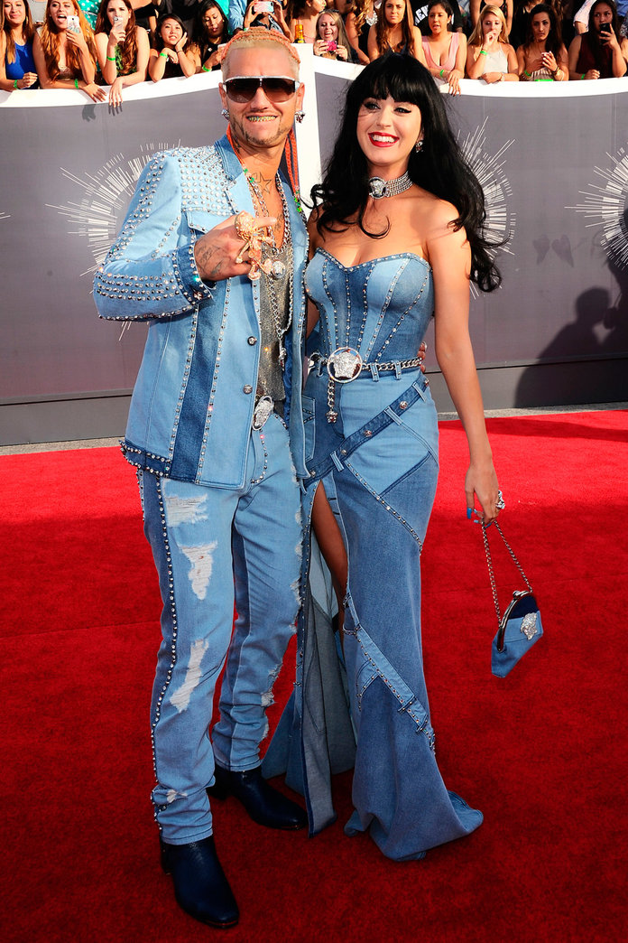 Britney Spears Gives A Thumbs Up To Katy Perry's Double Denim Throwback