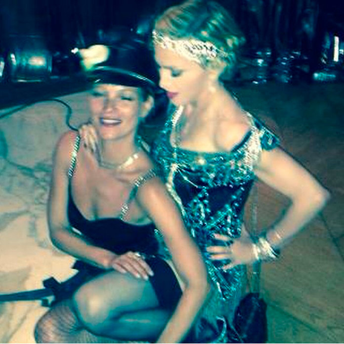 Kate Moss And Madonna Show Us How To REALLY Party At Birthday Bash