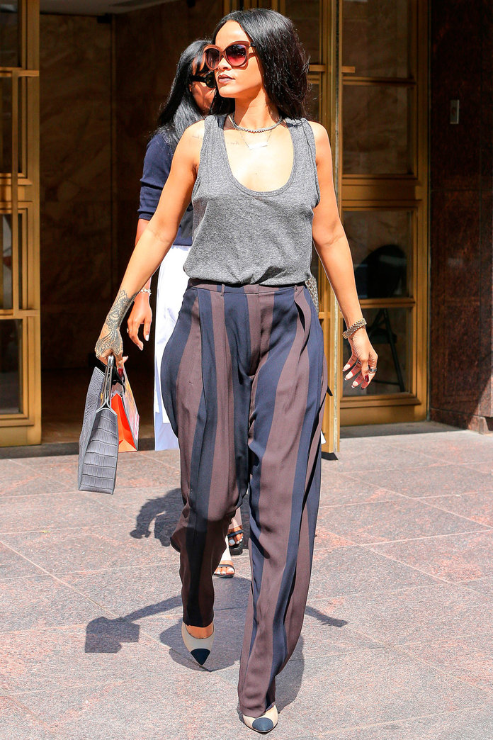 Has Rihanna Toned Down Her Look For Good?
