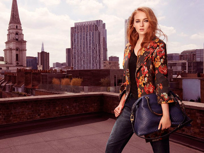 Game Of Thrones Star Sophie Turner Revealed As The Face Of Karen Millen