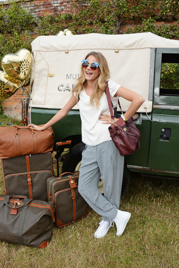 Cara Delevingne And Mulberry Invited Us To The Most Stylish Picnic Ever