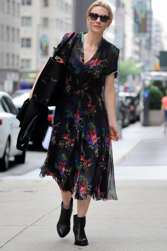 Why Cate Blanchett Is Our New Street Style Star Instyle