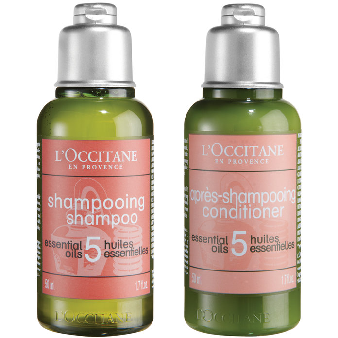 Free L'Occitane Luxury Shampoo & Conditioner Set Worth £10 With October InStyle