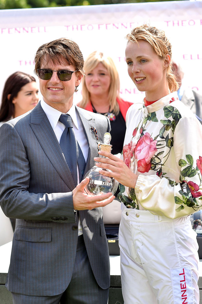 Edie Campbell Rides To Victory In Vivienne Westwood At Goodwood