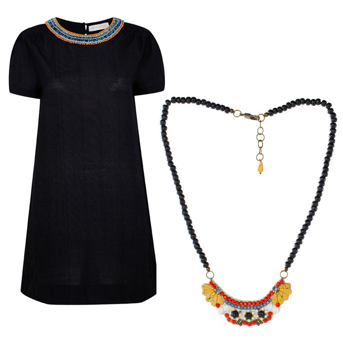 Win A Shift Dress And Necklace From Uzma Bozai's Debut Collection With InStyle VIP!