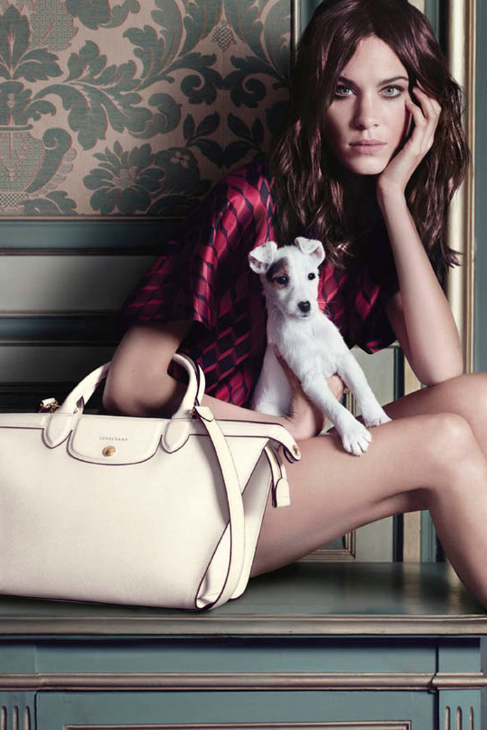 Alexa Chung Is Beyond Beaut In Longchamp's Stunning AW14 Video Campaign