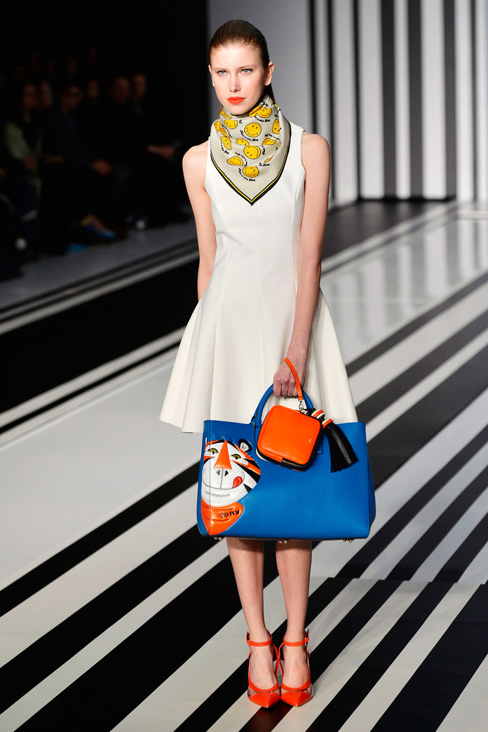 Zara Has Totally Nailed Anya Hindmarch's Retro Supermarket-Sweep Accessories...