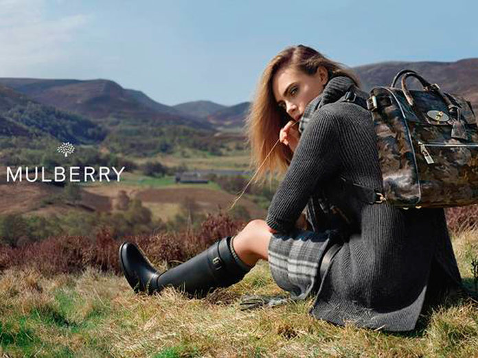 Cara Delevingne X Mulberry: The Bag Collection Of The Season Is FINALLY Here