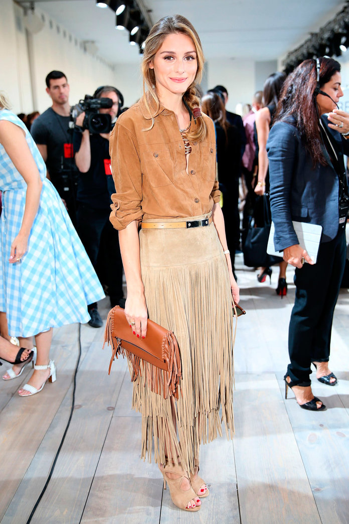 Fringing: The NYFW Trend Olivia Palermo & Co Are Championing