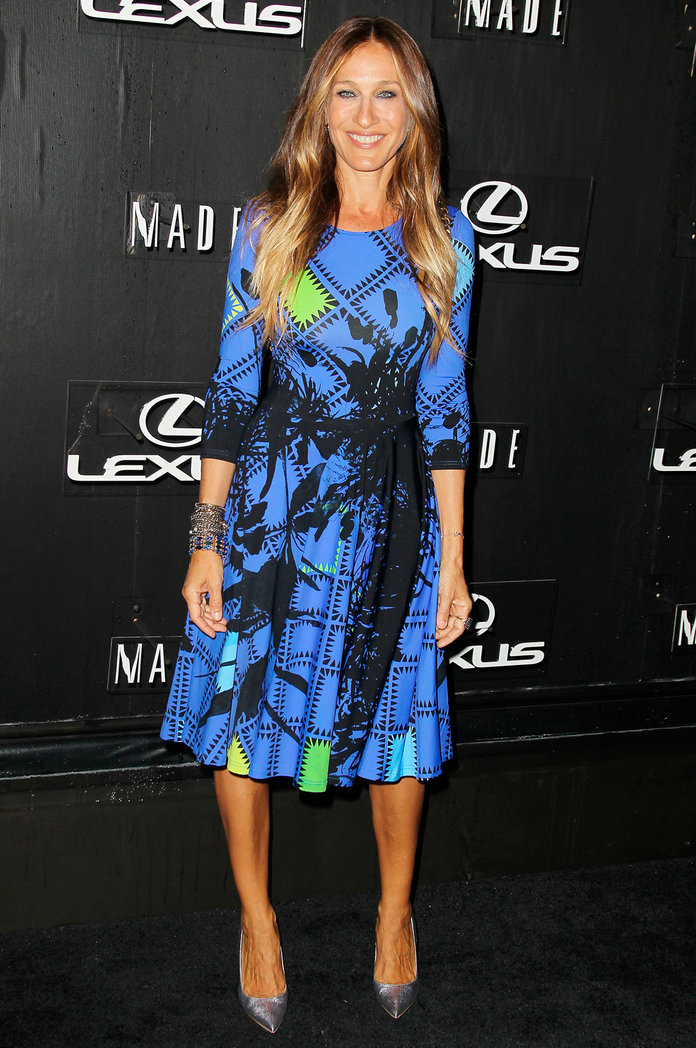 Sarah Jessica Parker's Flaunts The Most Unexpected Red Carpet Accessory Ever...