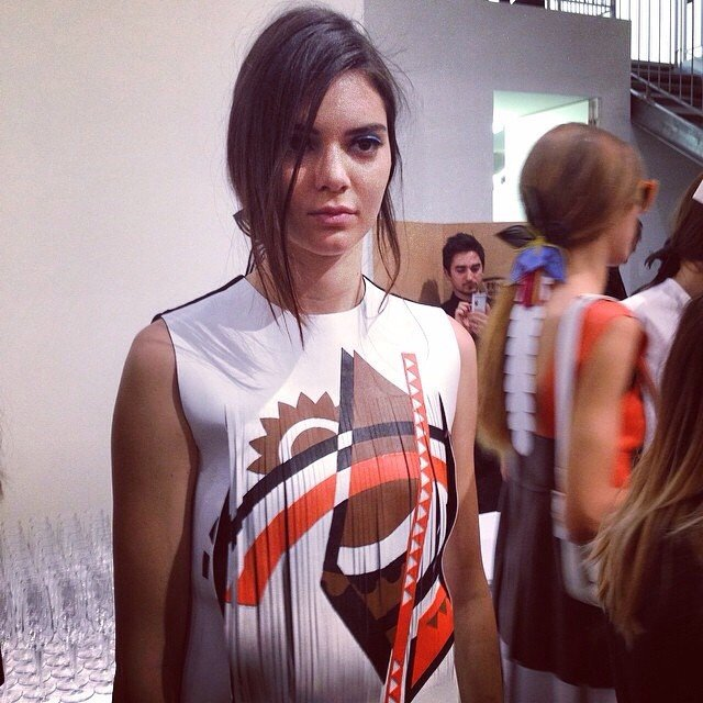 Kendall Jenner Just Conquered Milan Fashion Week, Making Her Debut For Fendi