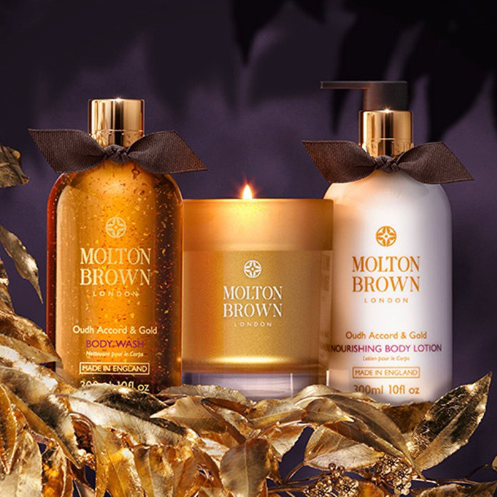 Win The Molton Brown Oudh Accord & Gold Trio With InStyle VIP!