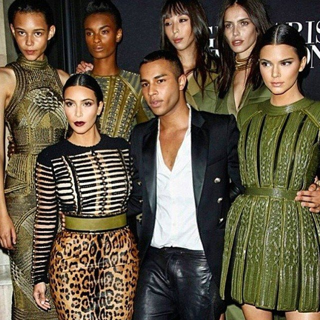 Olivier Rousteing Just Revealed Balmain's Catwalk Model Cast And It Is Amazing