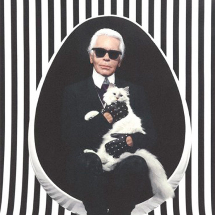 Karl Lagerfeld Plays Homage To Kitty Choupette With Edgy Fashion Range