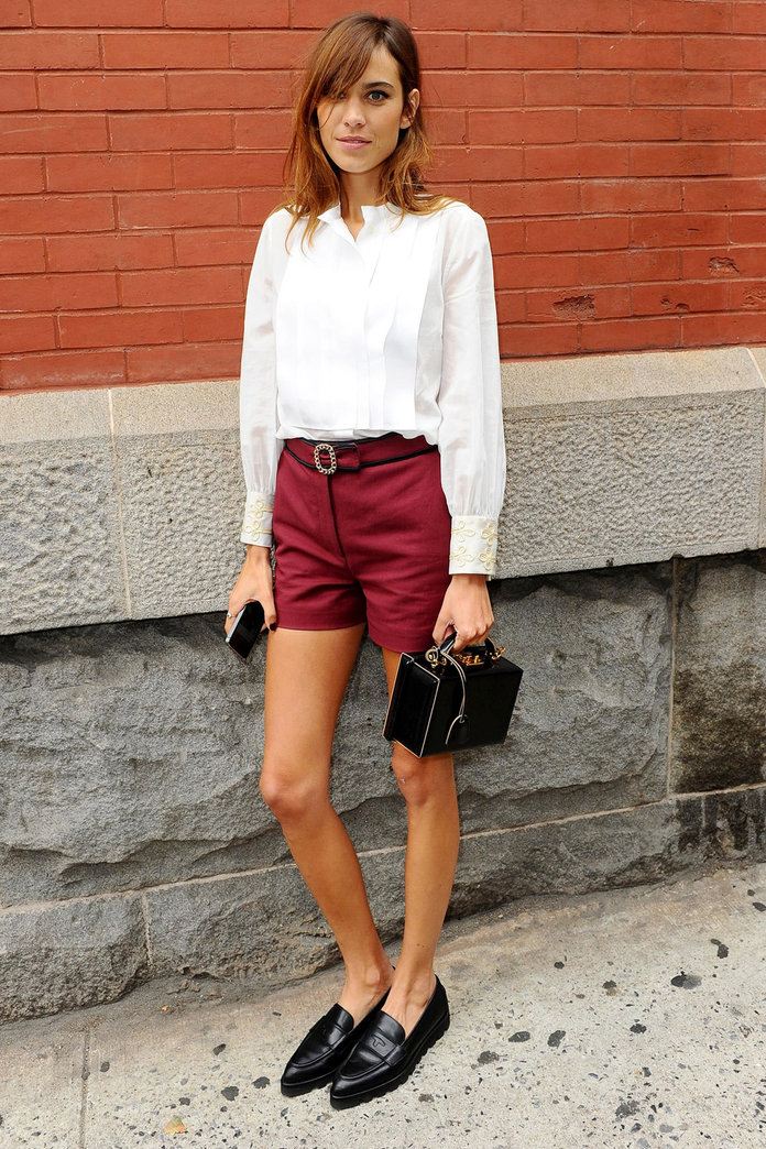 Alexa Chung Is The Queen Of Fashion Week Style In Tommy