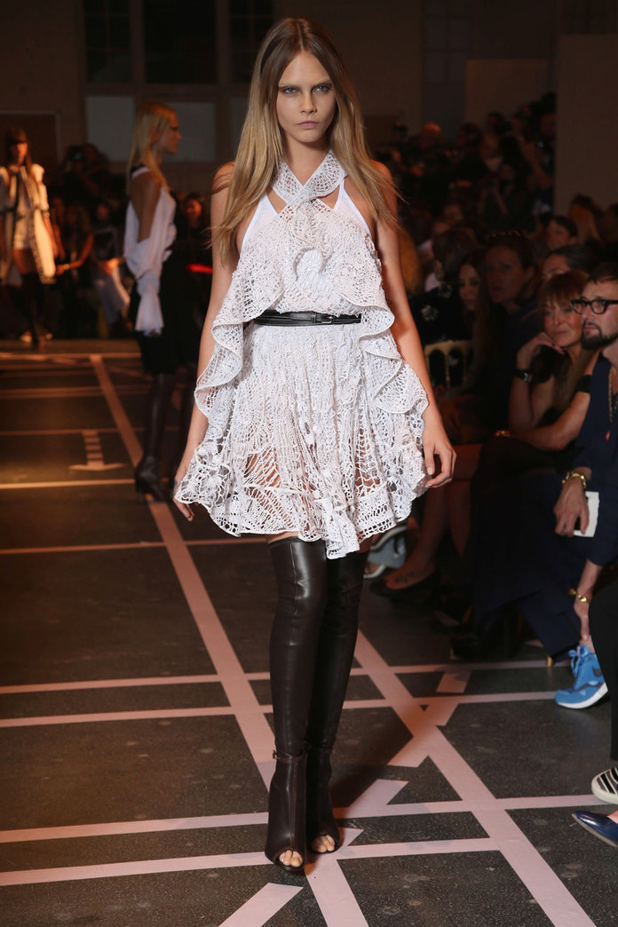 Cara Delevingne Loses Her Trademark Eyebrows For Givenchy