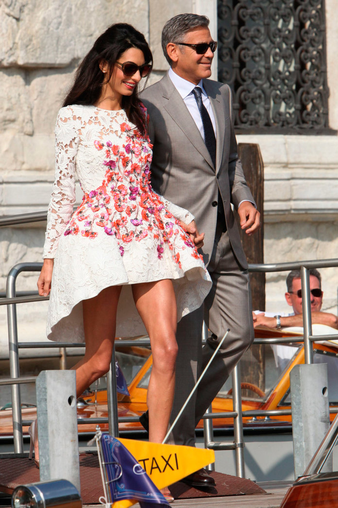 George Clooney And Amal Alamuddin Just Had The Most Celeb-Packed Wedding Ever