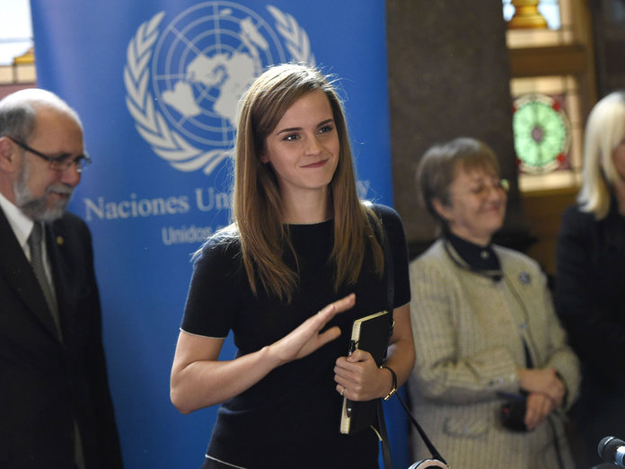 Emma Watson Swaps The FROW For Parliament