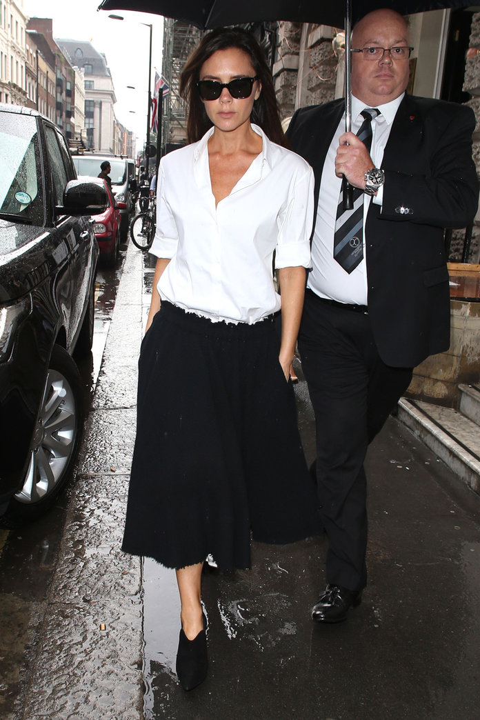 Victoria Beckham Plays Shopgirl At Her New Store