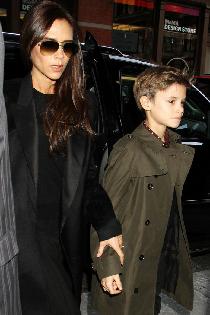 Romeo Beckham Lands His Second Burberry Campaign