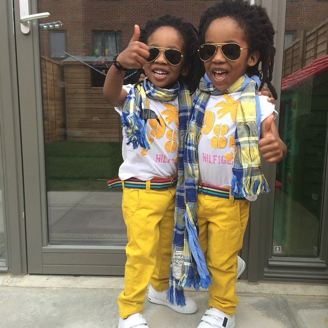 These Stylish Twins Will Put The Outfit You're Wearing To Shame...