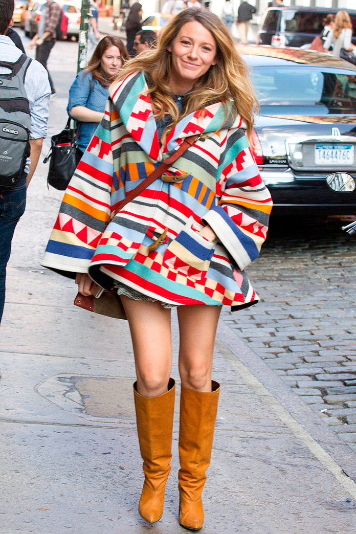 Blake Lively Totally Won At Maternity Dressing This Weekend...